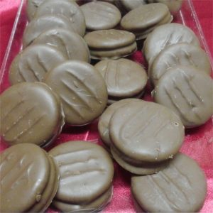 Chocolate Covered Ritz Peanut Butter Crackers