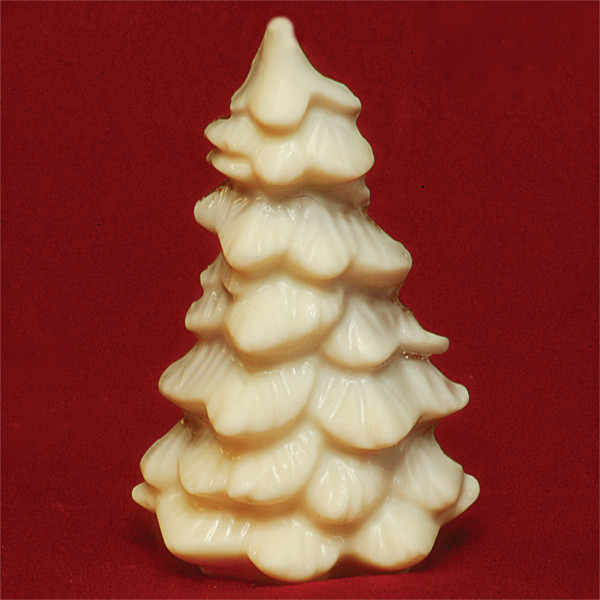 White Chocolate Fudge Christmas Tree