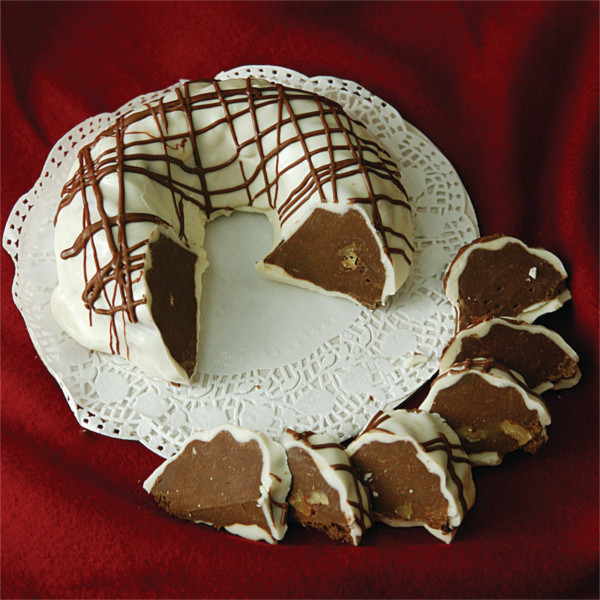 White Chocolate Fudge Ring