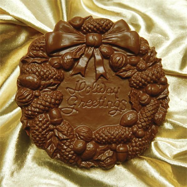 Milk Chocolate Wreath