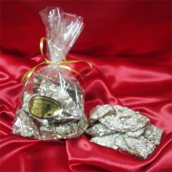 Toffee Almond Bark