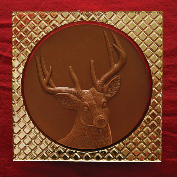 Bear Creek Chocolate Deer Head